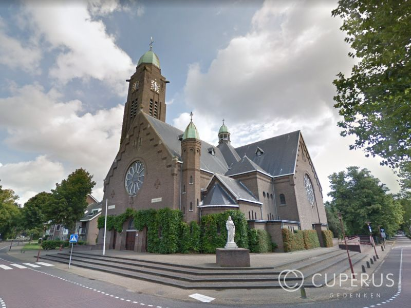 grafmonument St. Willebrord R.K. Begraafplaats St. Willebrord
